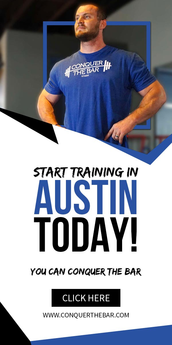Premiere Austin Gym Conquer The Bar Fitness Launches New Website
