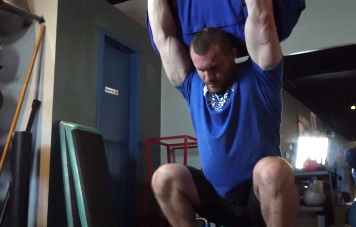 Sandbag Workout for Strength and Conditioning (VID)