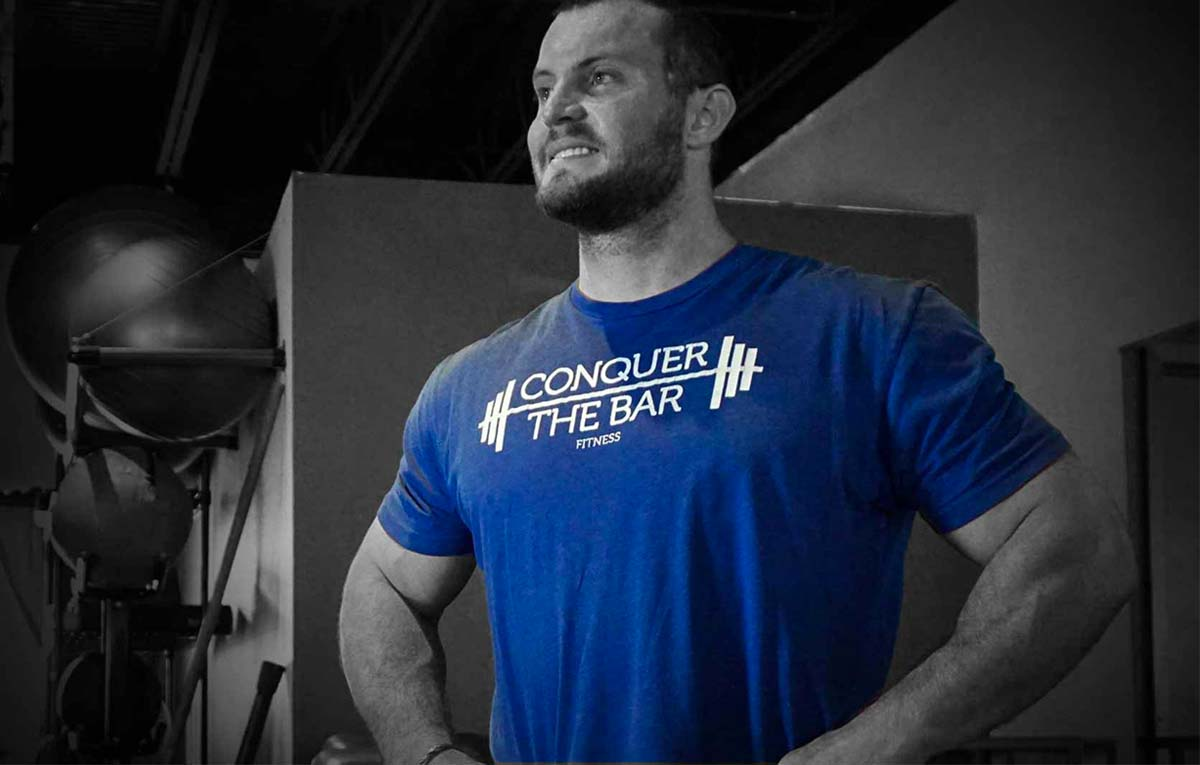 Conquer the Bar Fitness Website